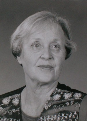 Colleen Thibaudeau, 1925-2012 Photo by Diane Thompson, 1997