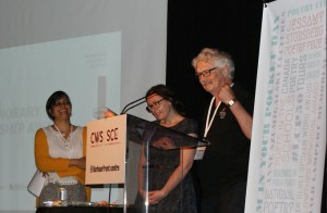 June 18, 2016 -- Poet Bruce Rice is the 2016 winner of the Colleen Thibaudeau Outstanding Contribution Award.